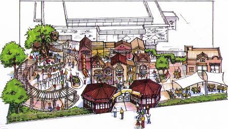 Master planning an amusement park for Architectural design concepts las vegas